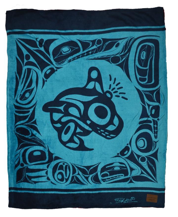 Bill Helin Orca Blanket