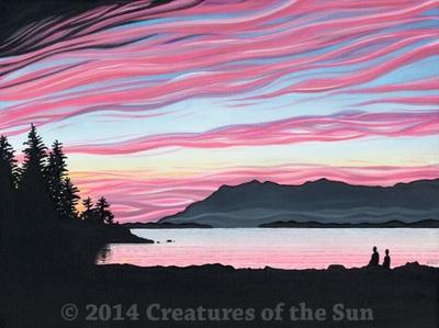 Broken Sunset by Andrew Talbot