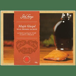Maple Glazed Smoked Pink Salmon (100g)