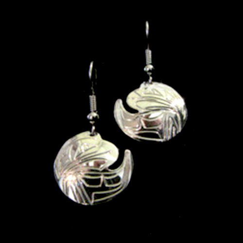 Eagle Cut Out Earrings by Silver Eagles