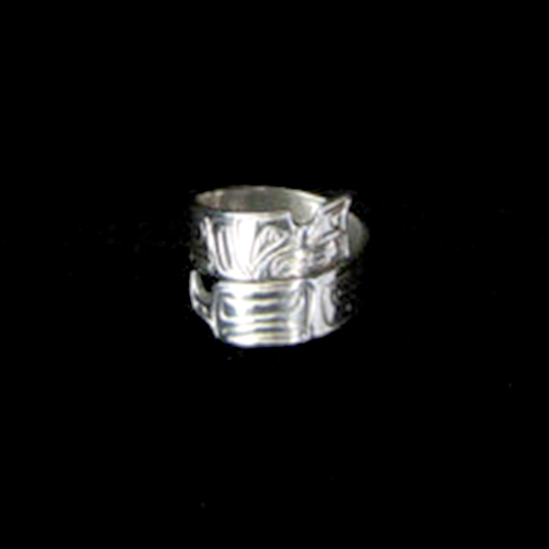 Sterling Silver Native Ring by Silver Eagles – Wolf