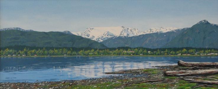 Comox Bay by Margaret Selkirk