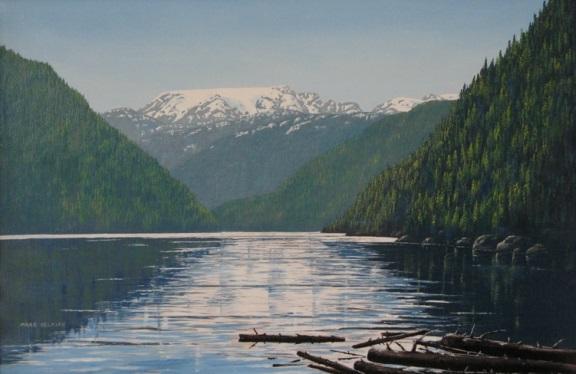 Comox Lake by Margaret Selkirk